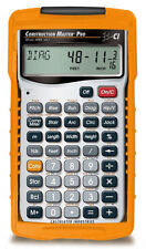 Calculated Industries Construction Master Pro Calculator 4065 with Hard Case