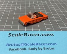 NEW OFFERING- Orange Ford Falcon Convert Body for Aurora Dash Tjet type Chassis
