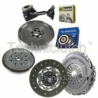 CLUTCH KIT AND SACHS DMF WITH LUK CSC FOR MAZDA 3 SERIES HATCHBACK 1.6 DI TURBO