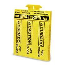 Rubbermaid Over-The-Spill Tablet - Absorbant Pad - Wet Floor Hazard Warning