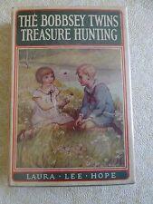 THE BOBBSEY TWINS TREASURE HUNTING by Laura Lee Hope 1929 HC