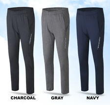 Mens Atheletic Lightweight Quick Dry Cool Training Banding Pants