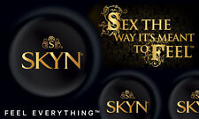 12 Mates Skyn Non Latex Ultra Thin Condoms Individually Foil Wrapped