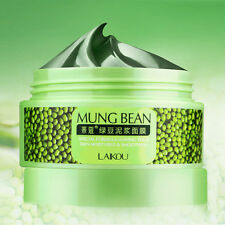 Nutrition Deep Clean Mung Bean Mask Essence Moisturizing Oil-Control Mask Cream