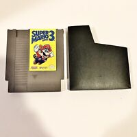 Super Mario Bros. 3 (Nintendo Entertainment System, 1990) NES Authentic & Clean