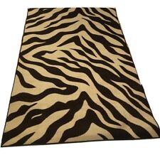 Area Rug Contemporary Non-Slip Rubbery back Zebra Design Turkish Rug 3'x5'