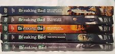 Season 2, 3, 4 & Final Season of Breaking Bad FREE SHIPPING