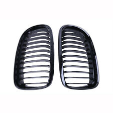 Gloss Black Front Kidney Grill Grille For BMW E90 E91 LCI 325i 328i 4D 2009-2011