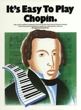 It's Easy To Play Chopin Classical Berceuse ETUDE No 3 Piano Music Book