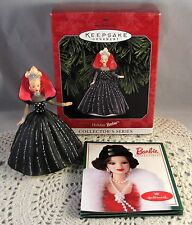 Hallmark Keepsake HOLIDAY BARBIE Ornament 6th In The Collectors Series 1998 NEW