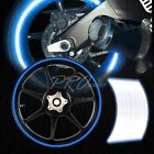 "16/17/18/19"" Reflective Rims Tape/Wheel Rim Decal Stripes Sticker Glowing Blue"