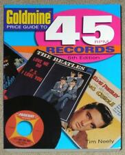 GOLDMINE PRICE GUIDE TO 45rpm RECORDS ~ 5th EDITION ~ SOFTCOVER