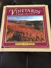 Vineyards 750 Piece Jigsaw Puzzle Collection 18X24 A Taste of Italy