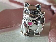 Orig.Pandora Charm Rote Winkekatze 790989EN05 Winkende Katze Glückskatze NEU/OVP