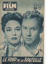 french magazine LE FILM COMPLET N°628 van johnson ruth roman sophia loren 1957