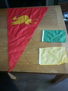 Hoylake Sailing Club pennant with 2 others