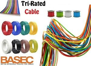 1m 2m 4m 6m ELECTRICAL TRI RATED WIRE CABLE AUTO marine LOOM  AUTOMOTIVE CAR VAN