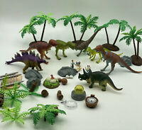 Vintage Dinosaur Toy Figure Lot of Jasman Pretend Play 1997