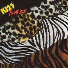 KISS ANIMALIZE CD HARD ROCK HEAVY METAL NEW