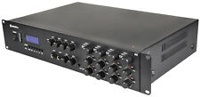 More details for adastra a8 professional stereo 1600w quad power amplifier + bluetooth receiver