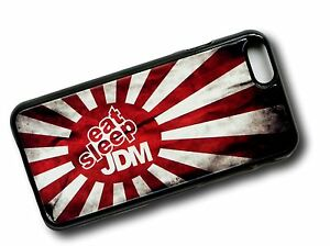Rising Sun Flag With Eat Sleep JDM Drift Slogan Clip On Case Cover for iPhone 5s