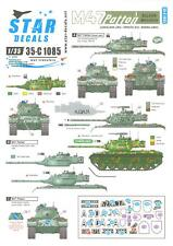 Star Decals 1/35 M47 PATTON TANK Part 1 BALKAN WAR & PEACE