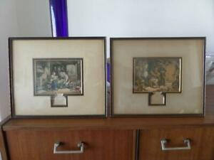 george baxter a pair of antique prints news from australia and news from home