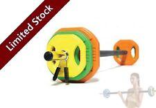 Crossfit Gym Weights Body Bar Barbell Set Pump Power Weightlifting Train