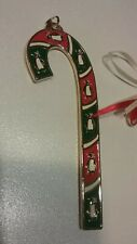 2012 Wallace Penguin Candy Cane Ornament