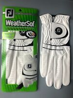 Footjoy Weathersof RH Glove  - FOR LEFT HANDED GOLFER - New