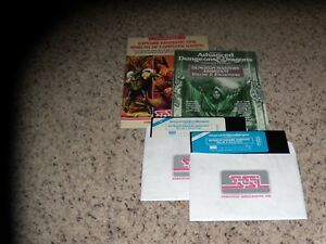 """Dungeon Masters Assistant Volume I: Encounters IBM PC Game 5.25"""" disks & manual"""