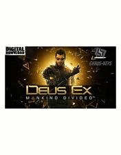 Deus Ex Mankind Divided STEAM PC Key Download Code Neu Global [Blitzversand]