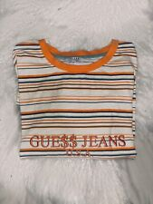 Guess X A$AP ROCKY Long Sleeve Striped Tee