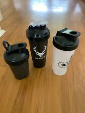 lot of 3 blender bottles