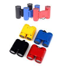 Kunststoff 2,5 x 26 Kinder Vergrößerungsspielzeug Fernglas Teleskop+ UmhängebaPD