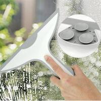 Kitchen Window Squeegee Cleaner Shower Bathroom Mirror Wiper with Suction
