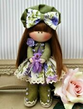 Rag doll handmade in the UK Tilda doll Ooak doll Cloth doll HELENA 6 inch tall