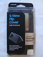 Genuine SAMSUNG S-View Flip Cover Case With Kickstand FOR Galaxy Note