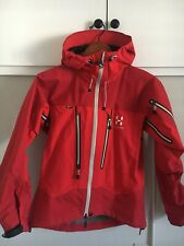 haglöfs Spitz jacket Small 3 Pro Layer GORE TEX Red Retail Price $550!