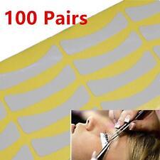 100 Pairs Standard Size Eyelash False Lashes Individual Extensions Tools Tape