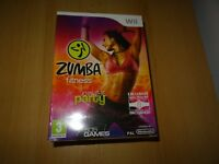Zumba Fitness Wii - Bundle Pack with Belt accessory Sealed New pal