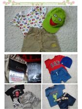 30x NEW USED SPRING SUMMER BUNDLE BOY OUTFITS CLOTHES 12/18 MTHS