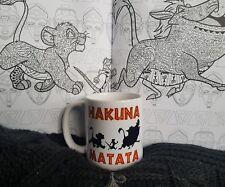 Hakuna Matata Disney The Lion King Mug Inspired Gift 11oz Birthday Pumba Simba