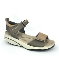 Women's MBT Pia Comfort Toning Rocker Sandals For Walking Size 37 / US 6 - 6.5