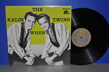 The Kalin Twins when D'83 Bear FAMILY BFX 15122 VINILE LP plays NEAR PERFECT