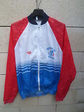 VINTAGE Veste EQUIPE DE FRANCE Mundial 82 PONY époque PLATINI tracktop jacket L