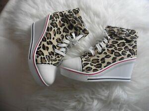 High Heels Sneaker Gr.37 leo Neu!!!