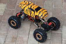 Custom Body Mini Tiger Style for Redcat Racing Rockslide / Everest 1/10 Crawler