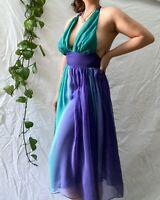 Cooper St Classy Y2k Halter Neck Dress (100% silk) Size 8