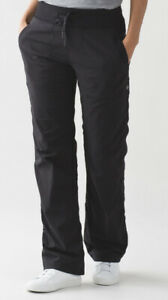 "Lululemon Dance Studio Pants Black 32""Inseam  *No Liner Size 6"